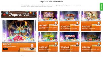Casino bonusar VARJE DAG med Betsson!