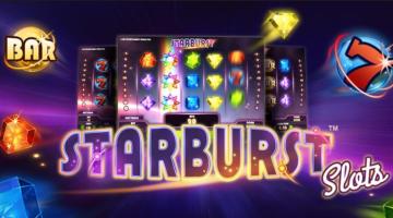 Spela i Starburst och få bonus!