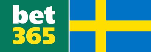 bet365 logo och svenska flaggan