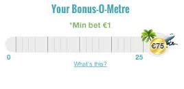 den häftiga bonus-o-metern