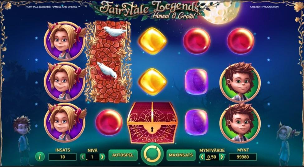 nya casinospel fairytales legends