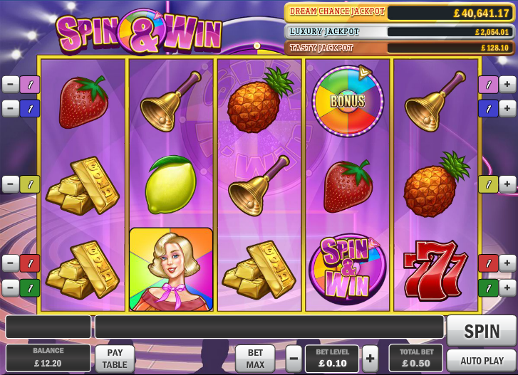 spin win slot