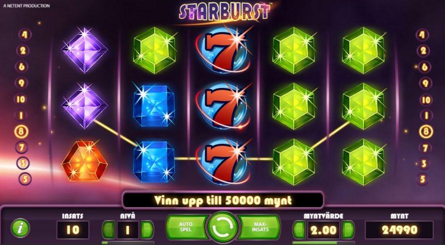 sverigeautomaten free spins starburst