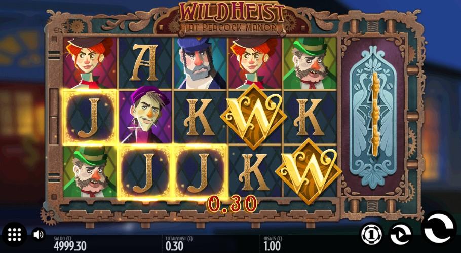 spelautomat wild heist