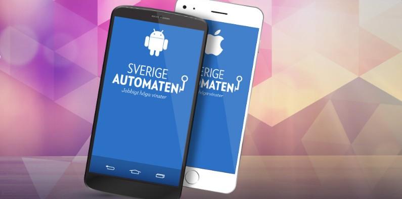 sverigeautomaten app