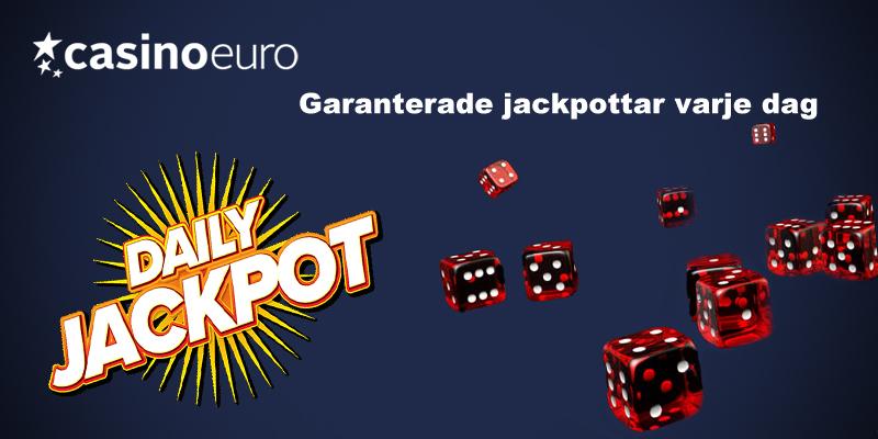 Daglig jackpott hos Casinoeuro