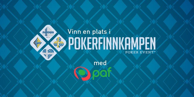 Vinn en plats i pokerfinnkampen