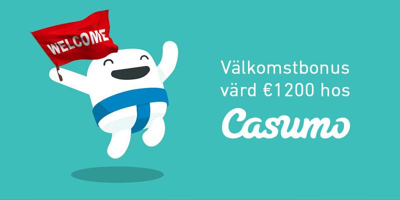 Bästa välkomstbonusen www.svenskakasinon.se