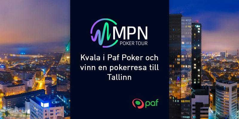 Vinn biljett till MPN Poker Tour i Tallinn