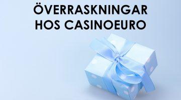 Spännande erbjudande hos CasinoEuro – nya casinopresenter varje helg