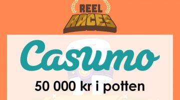 Boostade Reel Race hos Casumo – vinn 50 000 kronor